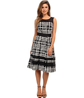 Badgley Mischka - Plaid Print Combo Cocktail