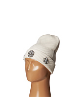 BCBGMAXAZRIA - Knitted Broach Cuff Beanie