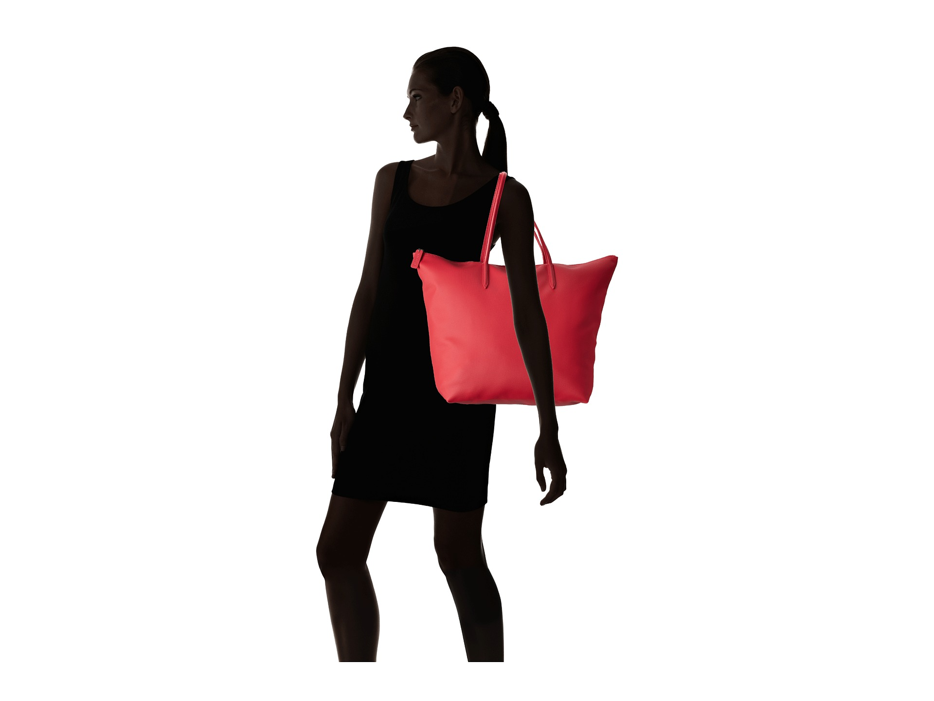 Lacoste L1212 Concept Travel Shopping Bag - Zappos.com Free ...