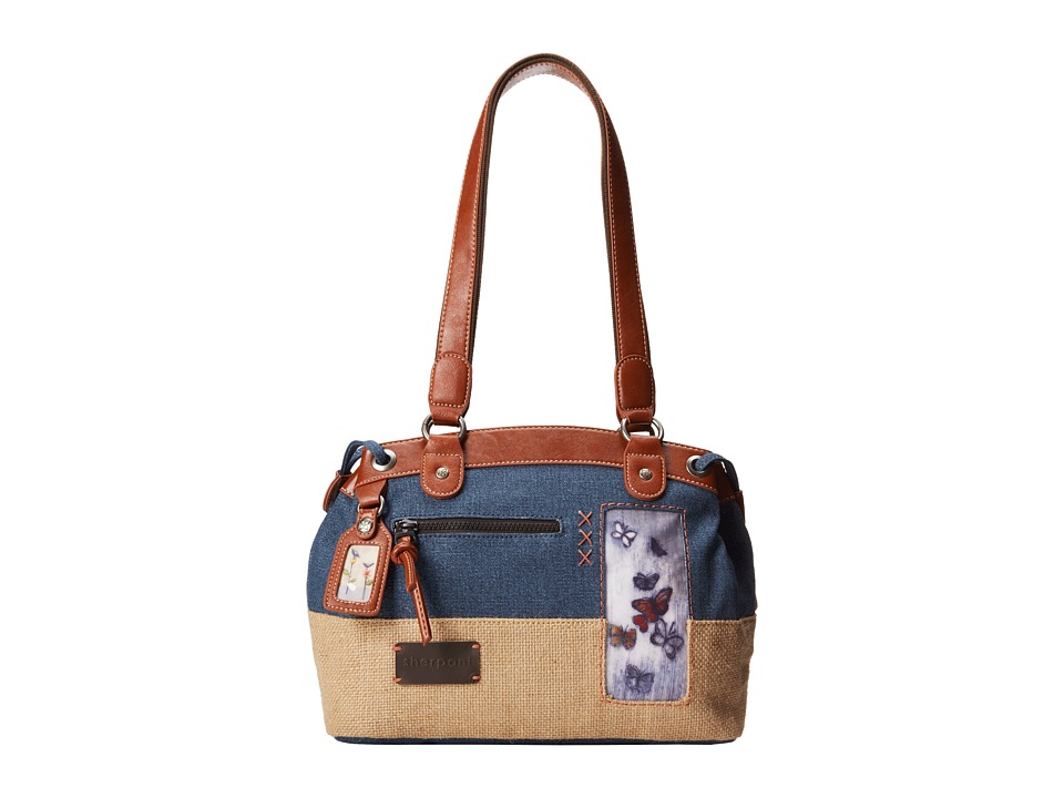 Sherpani Laurel Shoulder Bag Midnight Flight Shoulder Handbags