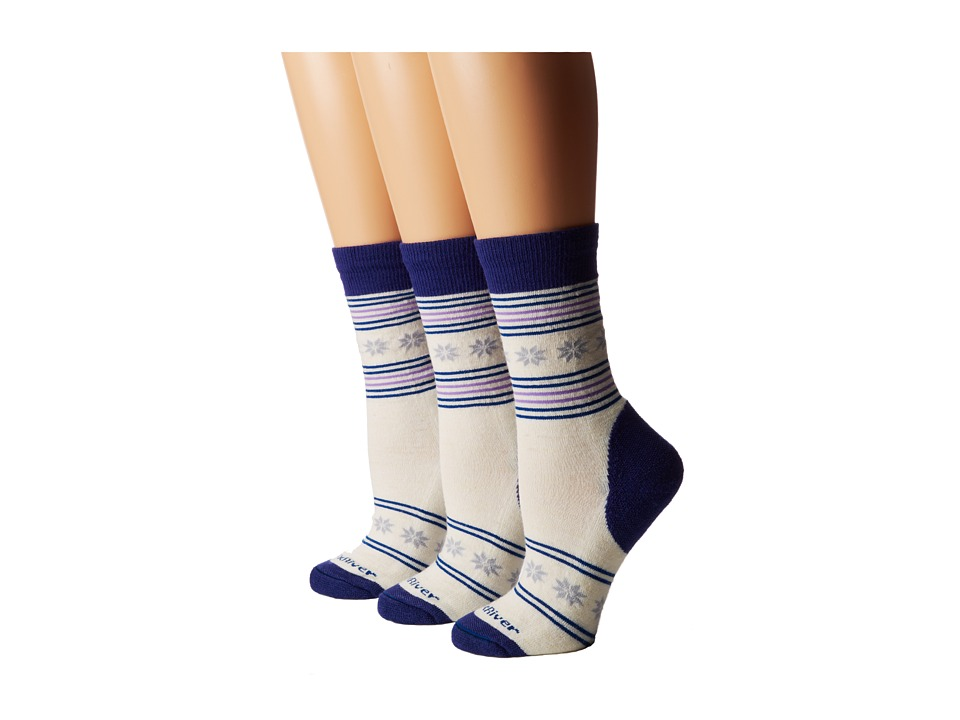 Fox River Nansen 3 Pair Pack Glass Womens Crew Cut Socks Shoes