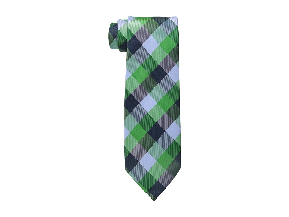 Tommy Hilfiger Buffalo Tartan Green Ties