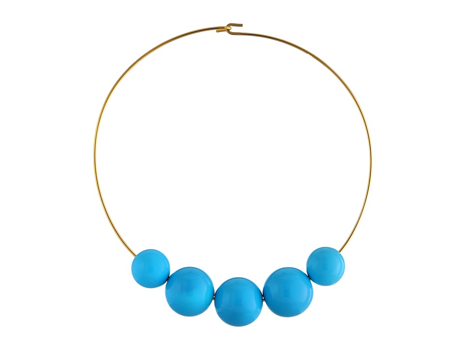 Kenneth Jay Lane - 8041NGT (Turquoise) Necklace