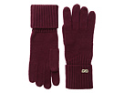 Cole Haan Diagonal Rib Glove (Red)