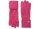 Cole Haan Diagonal Rib Glove (Pink)