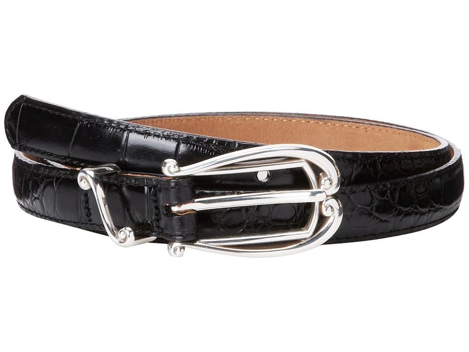 Brighton - Temptation Classic 3/4 Belt (Black) Womens Belts