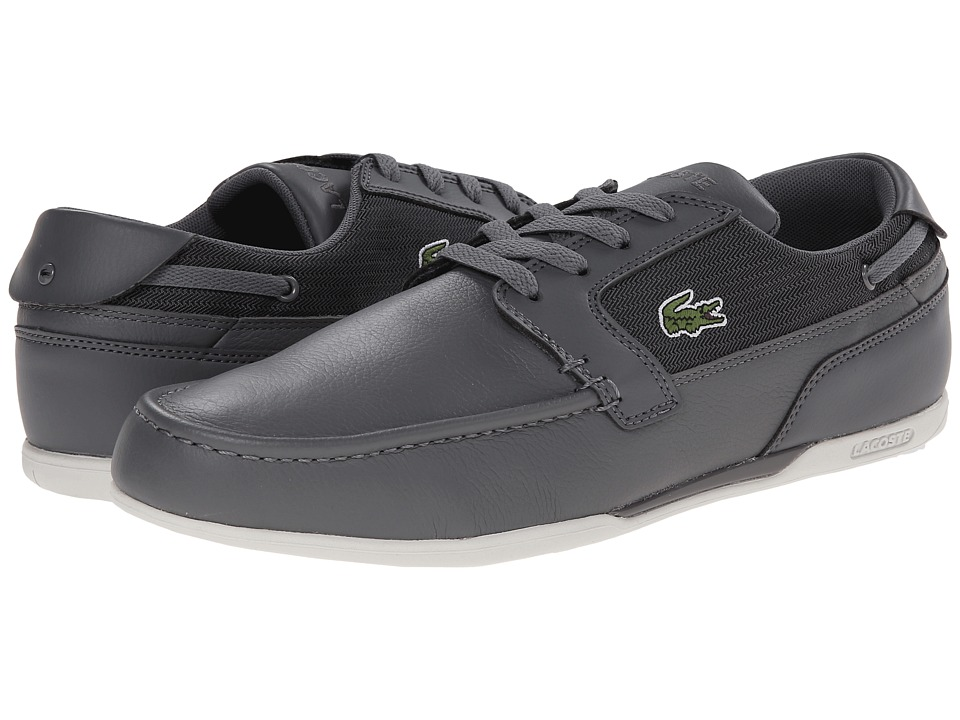 Lacoste Dreyfus TWD (Grey/Grey) Men's Lace up casual Shoes
