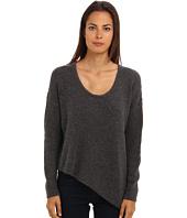 HELMUT LANG - Asymmetrical Hem Pullover Top