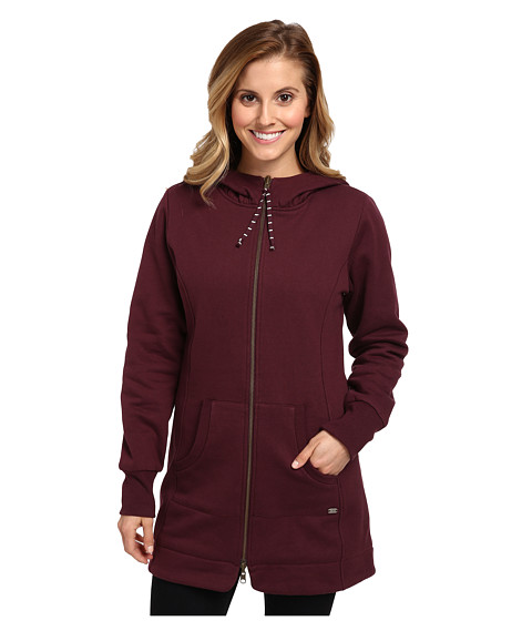 Carve Designs Atlas Hoodie (Port) Women's Sweatshirt