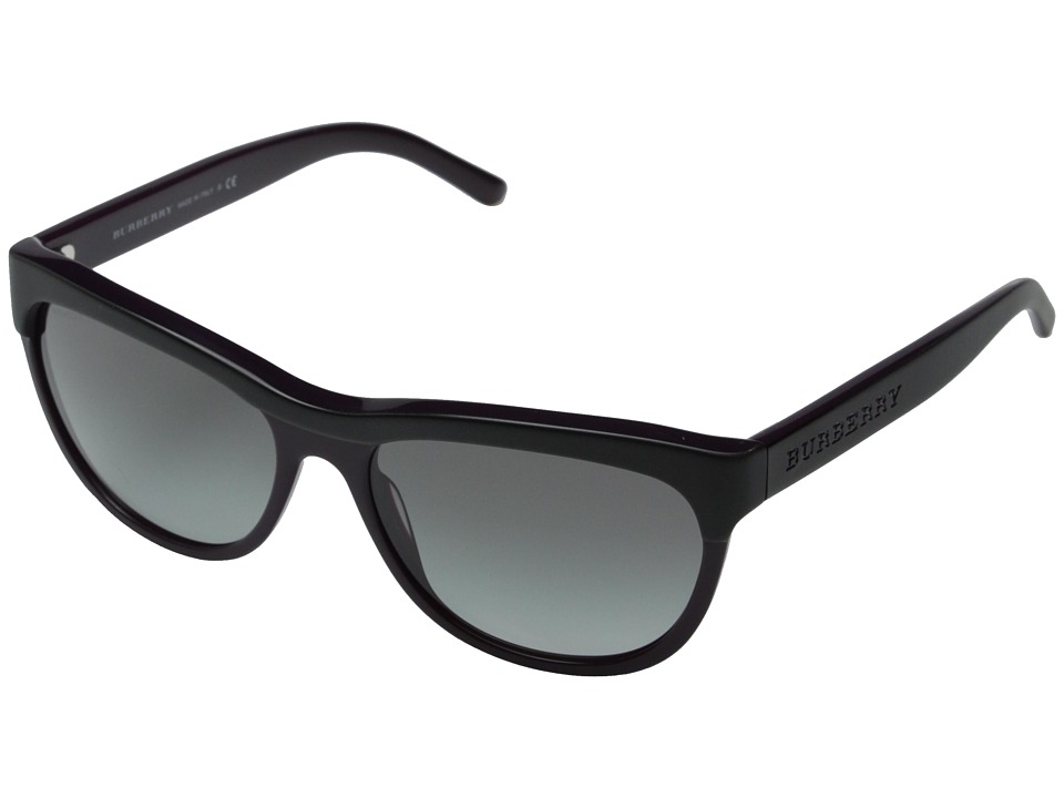 Burberry 0BE4176 Black/Violet/Grey Gradient Fashion Sunglasses