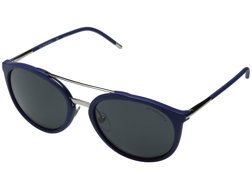 Burberry 0BE4177 Matte Blue/Grey Fashion Sunglasses