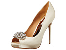 Badgley Mischka - Jeannie (Ivory Satin)