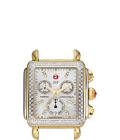 Michele - Deco Diamond Two-Tone, Diamond Dial Silver/Gold