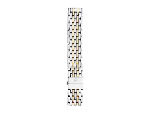Michele 18mm Deco Two-Tone 7-Link Bracelet Silver/Gold - Two-Tone Silver/Gold