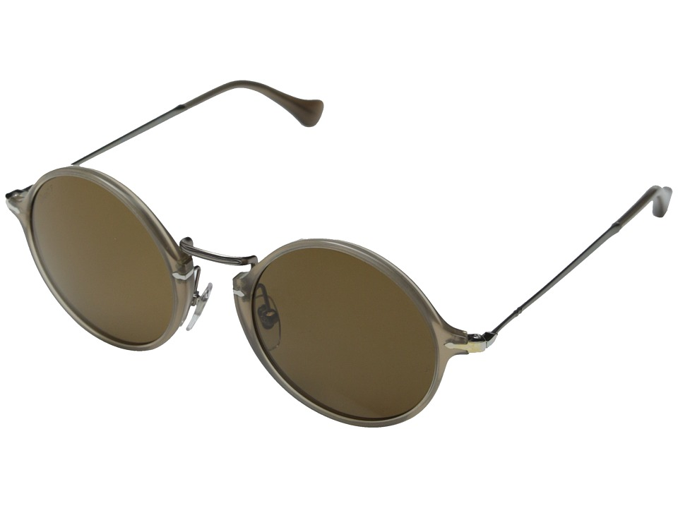 Persol 0PO3091SM Beige/Polar Brown Fashion Sunglasses