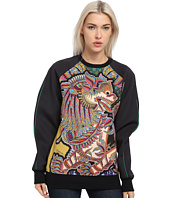 Just Cavalli - Raglan Sleeve Print Sweater