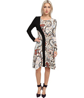 Just Cavalli - Long Sleeve Print Dress