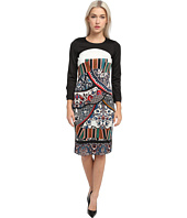 Just Cavalli - Long Sleeve Printed Shirt Dress