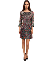 Just Cavalli - 3/4 Sleeve Printed Dress