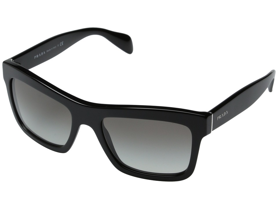 Prada 0PR 25QS Black/Grey Gradient Fashion Sunglasses