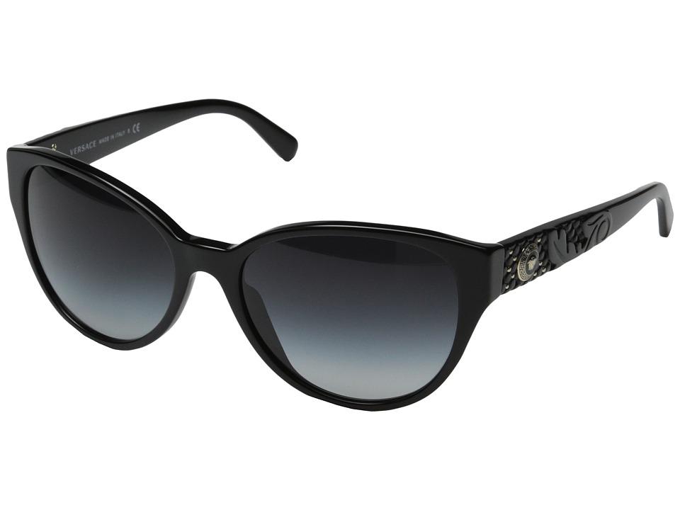 Versace VE4272 Black/Grey Gradient Fashion Sunglasses