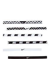 Nike - Nike Printed Headbands Assorted 6 Packs