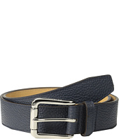 Cole Haan - 35mm Feather Edge Stitch Pebble Leather Strap
