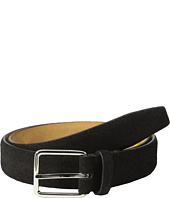 Cole Haan - 30mm Suede Feather Edge Strap w/ Harness Buckle