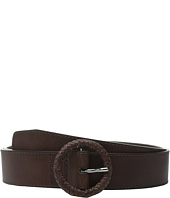 Cole Haan - 42mm Braided C Bar and Logo Emboss