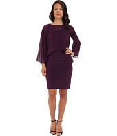 Adrianna Papell - Poncho Banded Dress