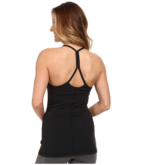Lucy - Studio Cami Racerback (Lucy Black) Women's Workout