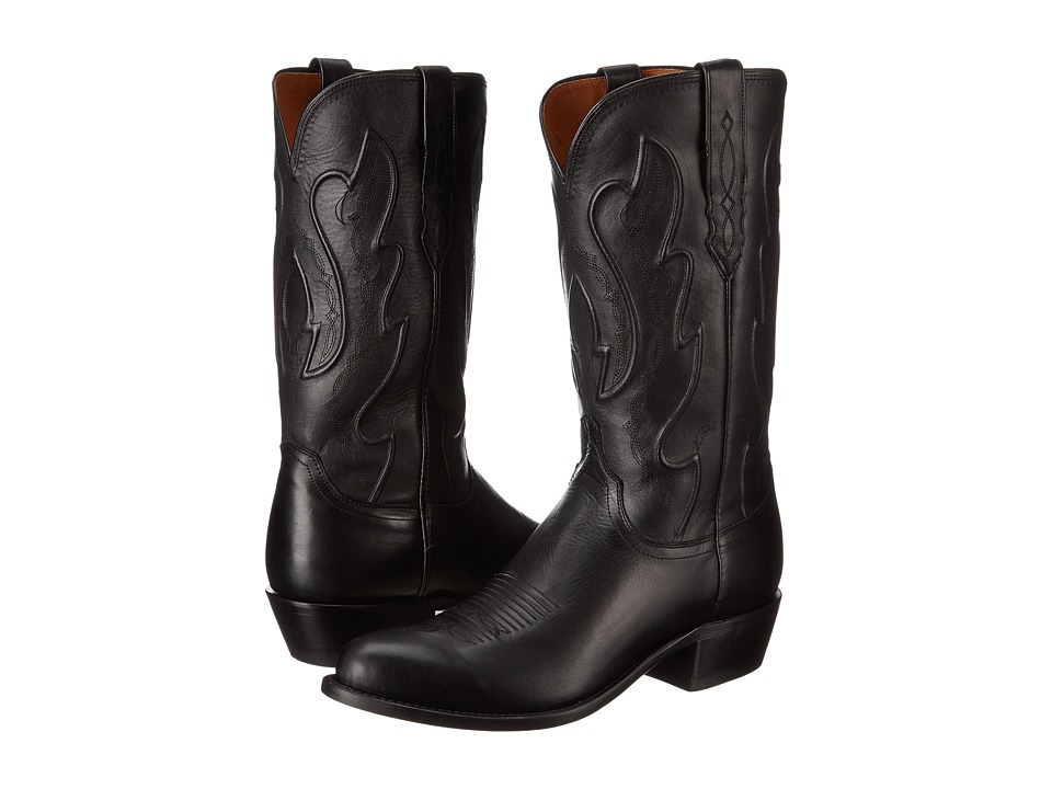 Lucchese - M1006.R4 (Black Ranch Hand) Cowboy Boots