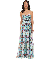 Adrianna Papell - Double Twisted Strapless Gown