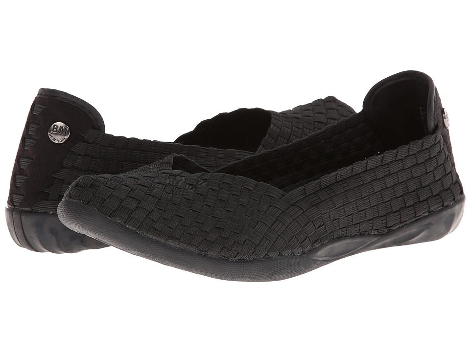 bernie mev. - Catwalk (Black) Womens Slip on  Shoes