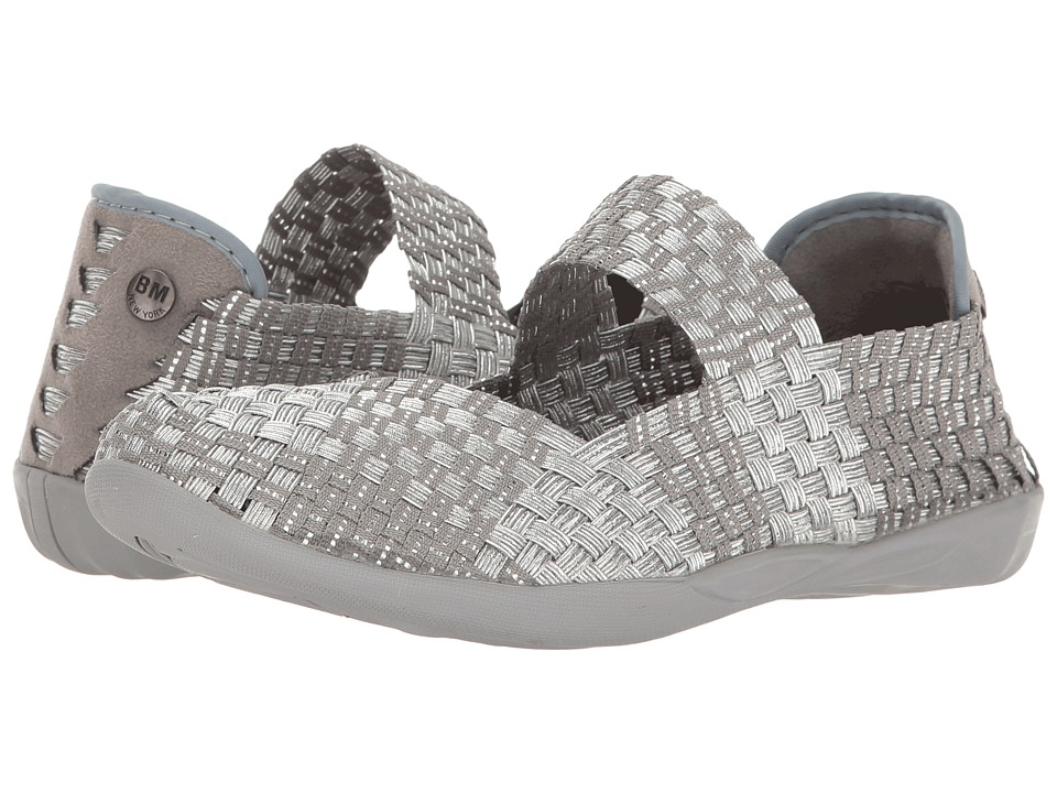 bernie mev. - Cuddly (Silver/Grey) Womens Maryjane Shoes