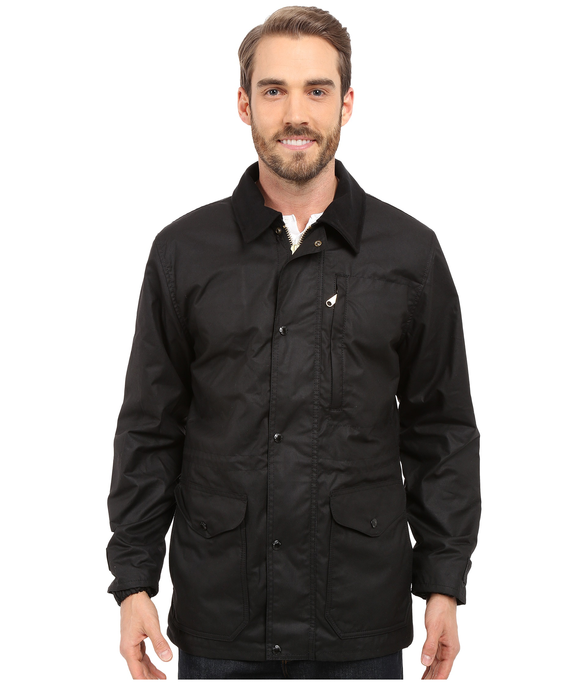 Filson Cover Cloth Mile Marker Coat At Zappos Com