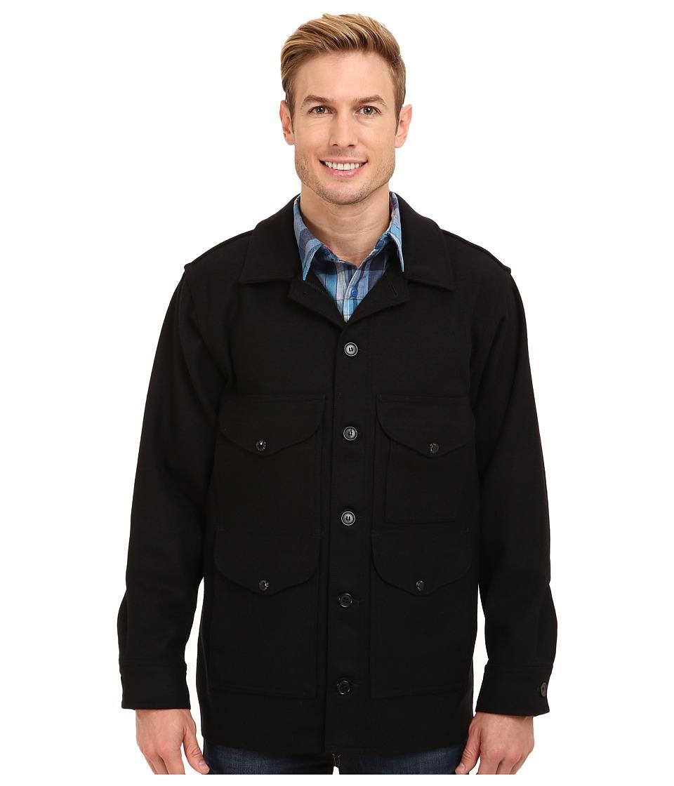 Filson Mackinaw Cruiser Black Mens Coat