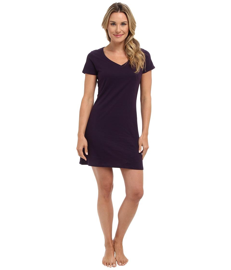 Jockey - Jockey Cotton Essentials Sleepshirt (Eggplant) Womens Pajama