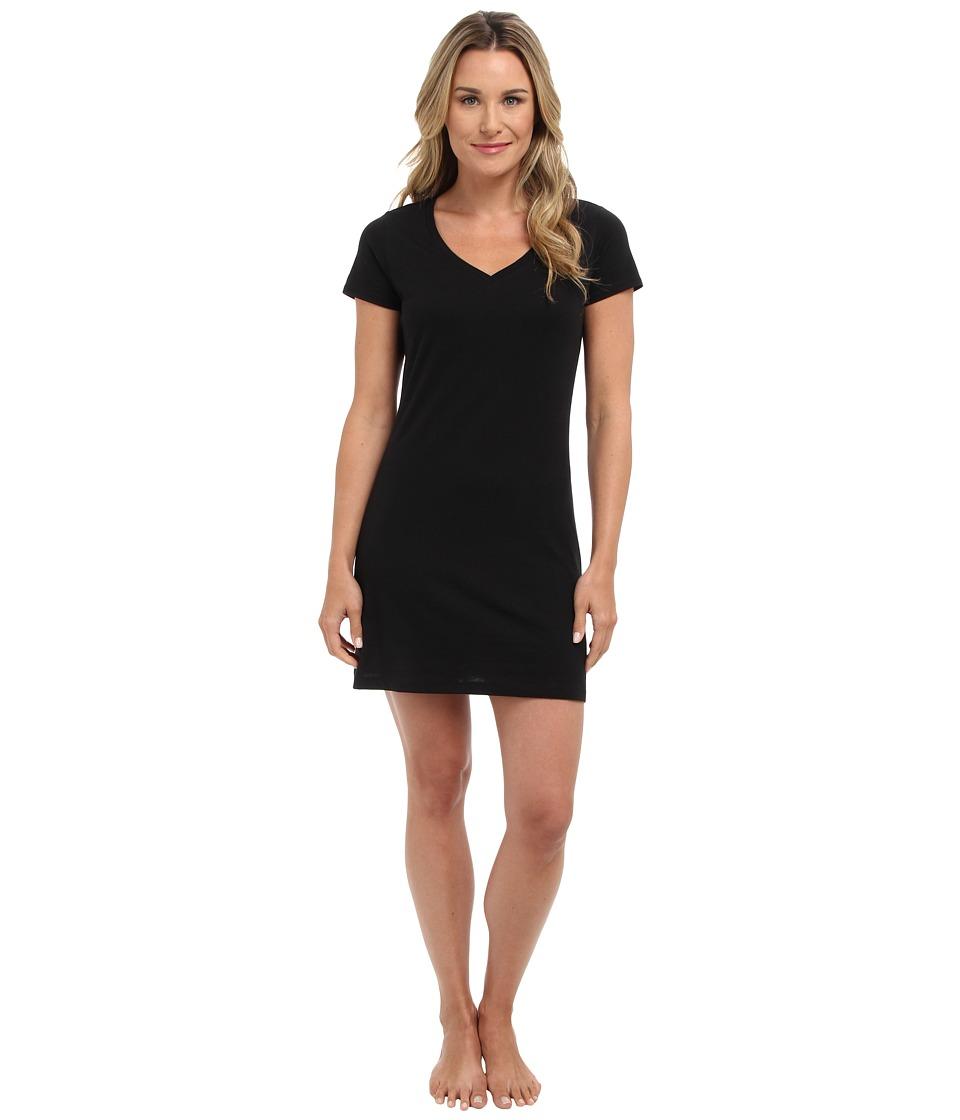 Jockey Jockey Cotton Essentials Sleepshirt Black Womens Pajama