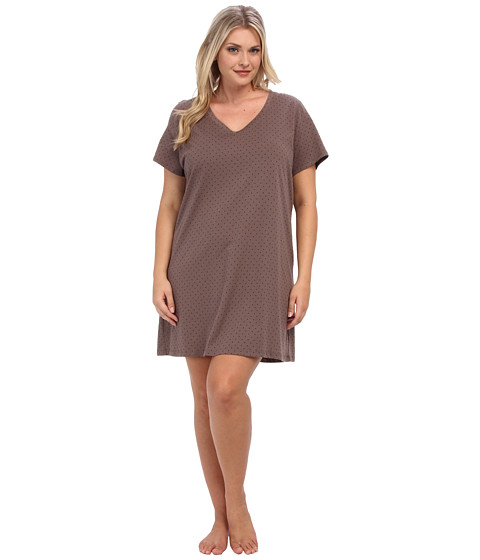 Jockey Plus Size Dancing Dots Jersey Sleepshirt