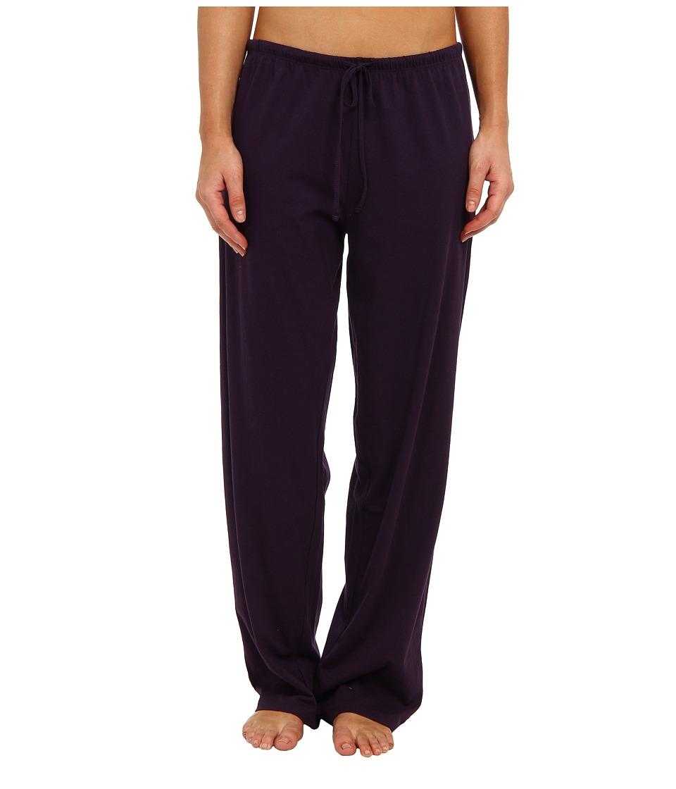 Jockey - Jockey Cotton Essentials Long Pajama Pant (Eggplant) Womens Pajama