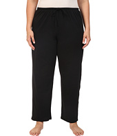 Jockey - Jockey Cotton Essentials Plus Size Long Pajama Pant