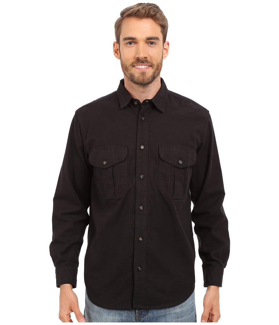 Filson Alaskan Guide Shirt Navy Mens Long Sleeve Button Up