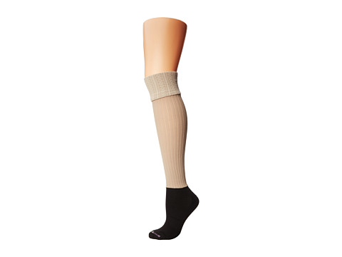 BOOTIGHTS Darby Ellevators Cable/Rib - Stone Heather