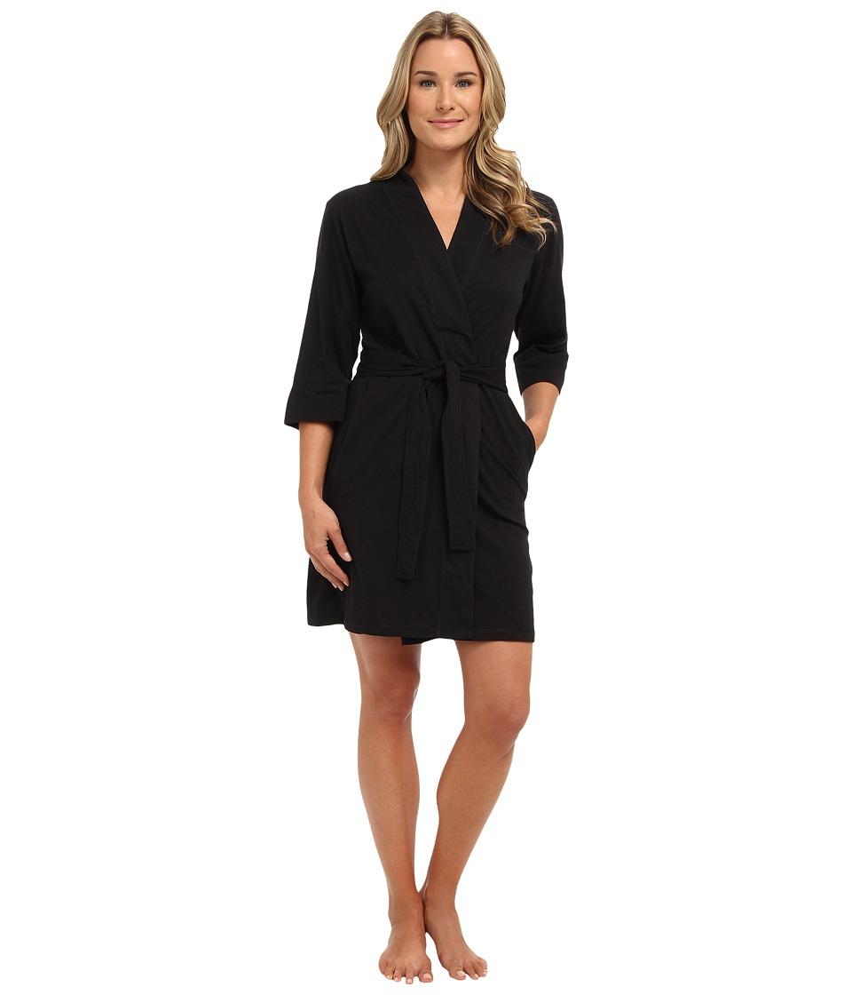 Jockey Jockey Cotton Essentials Robe Black Womens Robe