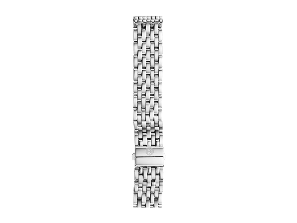 Michele - 16mm Deco 16 7-Link Bracelet Silver/Steel (Silver/Steel) Watches