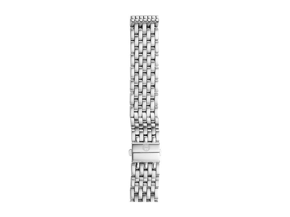 Michele 16mm Deco 16 7 Link Bracelet Silver/Steel Silver/Steel Watches