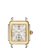 Michele - Deco 16 Two-Tone, Diamond Dial Silver/Gold Watch Head