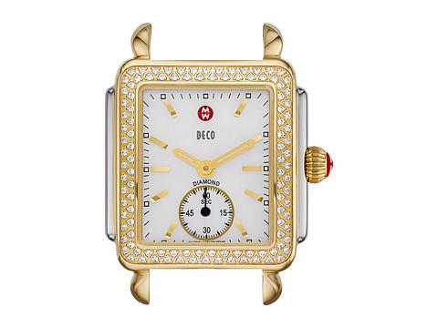 Michele Deco 16 Diamond Two-Tone Silver/Gold Watch Head