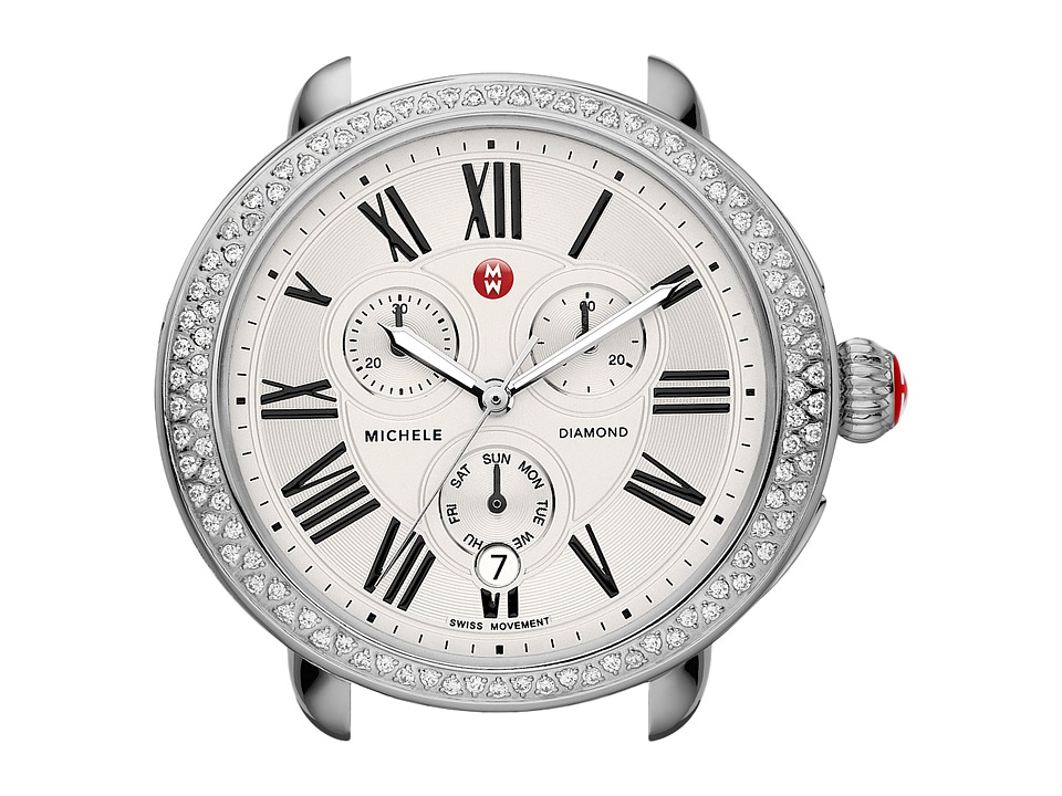 Michele - Serein Diamond Silver/Steel Watch Head